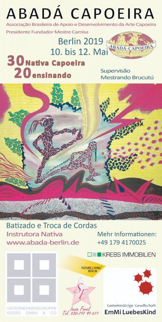 Abadá Capoeira Berlin Instrutora Nativa